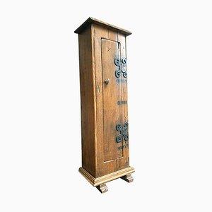 Antique Hall Bread Cabinet in Oak