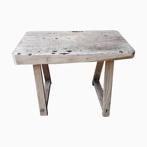 Small Rustic Worktable