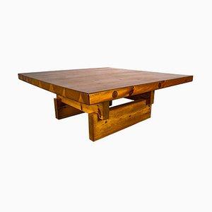 Table Basse en Pin Massif par Roland Wilhelmsson pour Karl Andersson & Söner Ab, Suède, 1970s