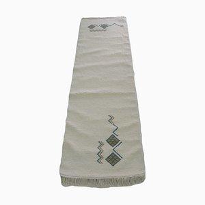 Handmade Moroccan Berber Runner Rug in Wool