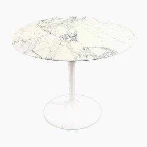 Mid-Century Marmor Esstisch von Eero Saarinen für Knoll Inc. / Knoll International