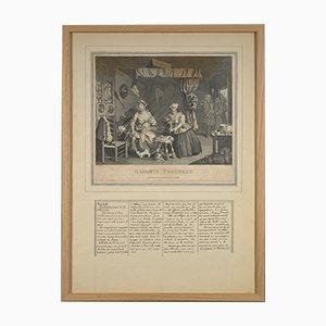 Lithographie William Hogarth, 1600s