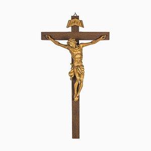 Croix en Bois avec Jésus Christ