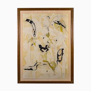 Art Work from W. Thesen, 1980