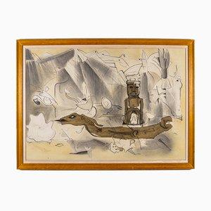 Oeuvre d'Art de W. Thesen, 1980