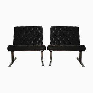 Modell F60 Sessel von Karl-Erik Ekselius für Joc Vetlanda, 1960er, 2er Set