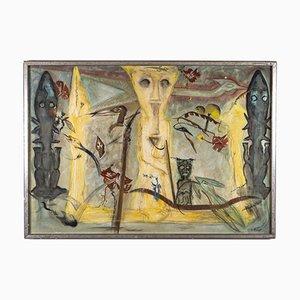 Kunstwerk von W. Thesen, 1985