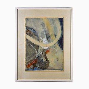 Oeuvre d'Art sur Papier dans le Style de W. Thesen