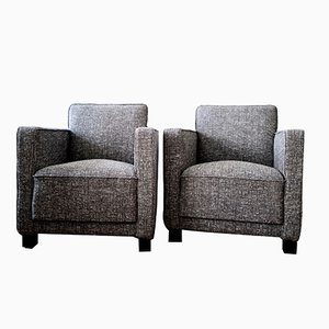 Swedish Club Chairs by Björn Trägårdh for Svenskt Tenn, 1930s, Set of 2