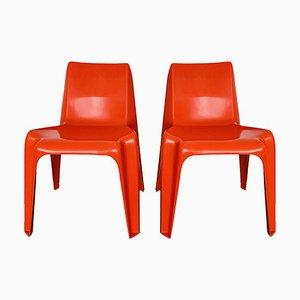 Stühle von Helmut Bätzner für Bofinger, 1960er, 2er Set