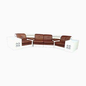 Modulares Sofa mit Hi-Fi