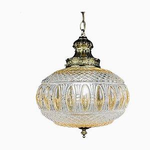 Lampe Vintage en Cristal, Italie, 1970s