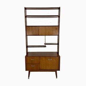 Mueble de pared y biombo vintage de G-Plan