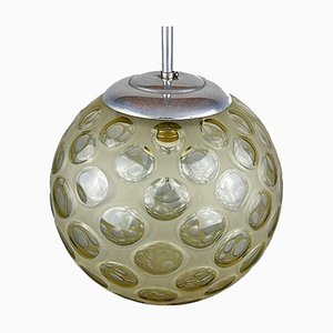 Mid-Century Sphere Ball Pendant Lamp, Italy, 1960s