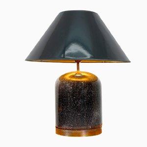 Vintage Murano Glas Tischlampen von Mazzega, 1960er, 2er Set