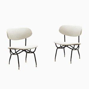 Italian Lounge Chairs by Gastone Rinaldi, 1970s, Set of 2