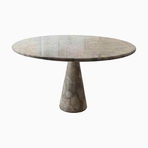 Carrara T70 Tisch aus weißem Marmor von Angelo Mangiarotti, 1969