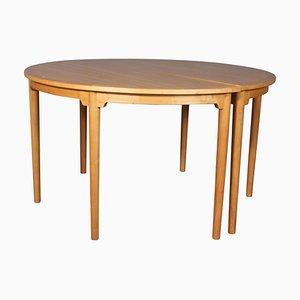 Chinesischer Tisch von Hans J. Wegner für Fritz Hansen