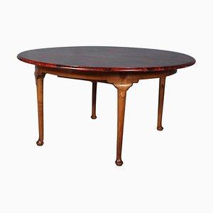 Tavolo da pranzo allungabile di Ernst Kühn, anni '40