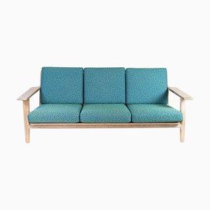 Model GE290 3 Seater Sofa in Oak by Hans J. Wegner for Getama, 1960s