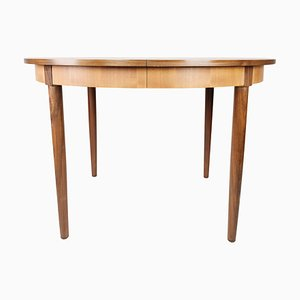Danish Dining Table in Teak with Extensions, 1960s