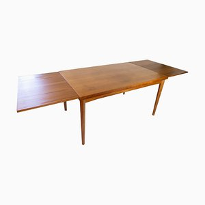 Danish Teak Dining Table with Extensions, 1960s