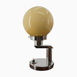 Lampe de Bureau Fonctionnaliste en Plaqué Nickel, 1920s
