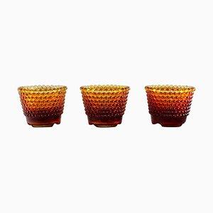 Pearl Kerzenständer für Kleine Kerzen von Monica Bratt für Reijmyre, 3er Set