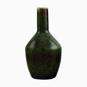 Vase aus glasierter Keramik von Carl Harry Stålhane für Rörstrand, Mitte des 20. Jh