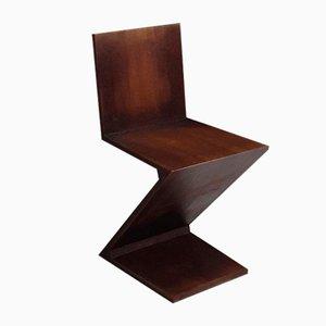 Chaise Zigzag par Gerrit Thomas Rietveld pour Cassina