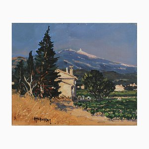 View of Mont Ventoux Under the Provence Sky, Michel Margueray, 2000