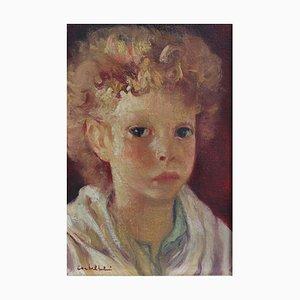 Retrato de niño de Luigi Corbellini, años 30