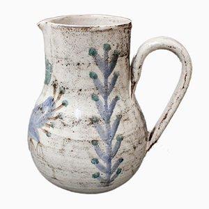 Französischer Vintage Keramikkrug von Gustave Reynaud für Le Mûrier, 1960er