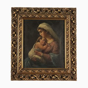 Madonna with Child Painting, 19th-Century