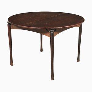 Veneered Wood Table, Italy, 1960s