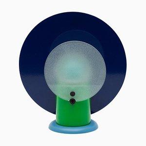 Round Desk Lamp by Michel De Lucchi for Bieffeplast, Italy, 1983