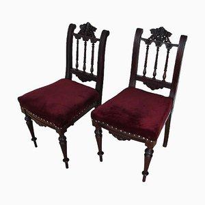 Stühle, 19. Jh., 2er Set