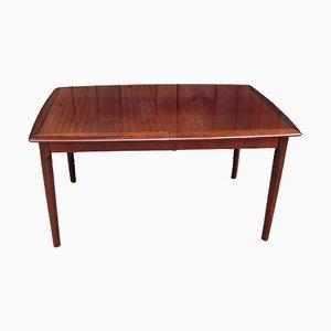 Tavolo pieghevole in teak, anni '60