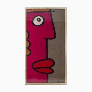Thierry Noir, tela estampada, años 90