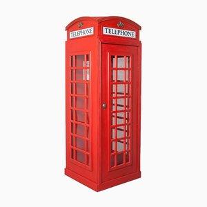 K2 Red Phone Box British Telephone Cell