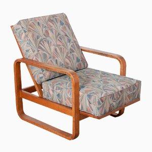 Art Deco Reclining Armchair