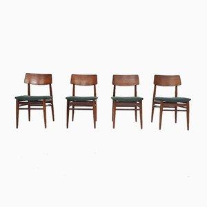 Teak Esszimmerstühle von Topform, Niederlande, 1960er, 2er Set