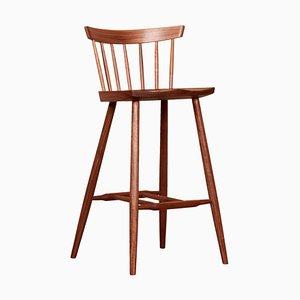 4 Legged High Chair by George Nakashima Studio, USA, 2021