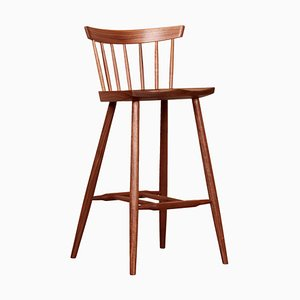 Sedia alta a quattro gambe di George Nakashima Studio, USA, 2021