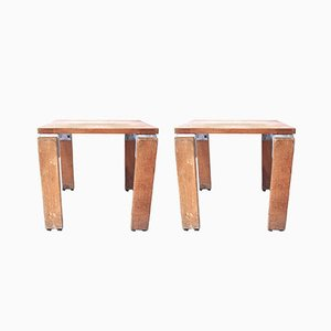 French Stools by Georges Candilis and Anja Blomstedt, 1969, Set of 2
