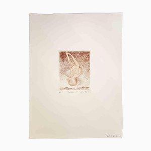 Leo Guida, Child, Original Etching and Aquatint, 1970s