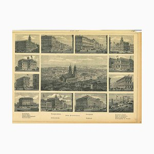 Unknown, Ancient Views of San Francisco, Original Lithograph, 1850s