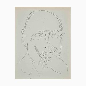 Raoul Dufy, Study for Self-Portrait, Original Lithograph, 1920s