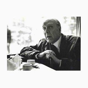 Desconocido, Entrevista a Jorge Luis Borges, Fotos y mecanografía de Pino Cimò, 1974
