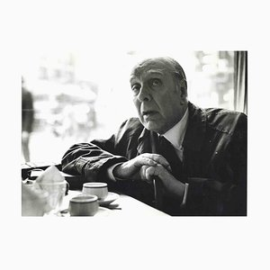 Unknown, Interview to Jorge Luis Borges, Photos and Typescripts by Pino Cimò, 1974